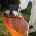 Beautiful Wooden Firefly Sailing Dinghy